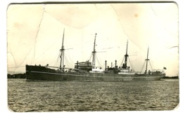 Cargo Ship CHILE Photo Postcard C. 1910 - Commerce