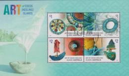 Cocos Islands 2016 Art Minisheet CTO - Kokosinseln (Keeling Islands)