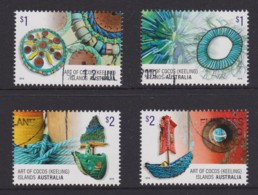 Cocos Islands 2016 Art Set Of 4 CTO - Kokosinseln (Keeling Islands)