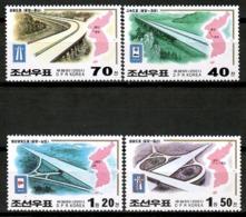 Korea North 2000 Corea / Roads MNH Carreteras Strassen Routes / Cu13037  38-11 - Otros