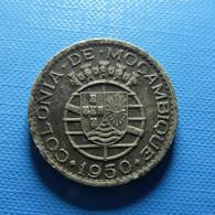 Portuguese Moçambique 1 Escudo 1950 - Portugal