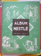 ALBUM NESTLE 1936 - 1937 - 351 Vignettes Sur 360 - CYCLISME - RUGBY - FOOTBALL - BOXE - EXPEDITION CITROËN -ETC......... - Werbung