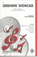 Partition Musicale Ancienne  , GERSHWIN SHOWCASE ,arranged Carl Strommen ,23 Pages ,frais Fr 3.15 E - Partituren