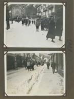 Page D'album Avec 4 Photos De Chamonix . Hôtel Balmat . 1929 . - Places