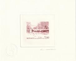 Monaco Epreuve D Artiste Plus Pré épreuve Sans La Valeur RRR Claude Monet °1747 - Monaco
