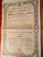 BRAZIL / COMPAGNIE DU PORT DE BAHIA 1906 - Navy