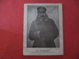 Petit Livret - JOSEF PILSUDSKI - 8 Pages - Langue Polonaise - 1918 - Books, Magazines, Comics