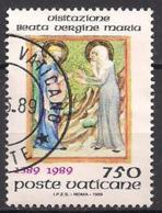 Vatikan  (1989)  Mi.Nr.  974  Gest. / Used  (9fk15) - Vaticano (Ciudad Del)