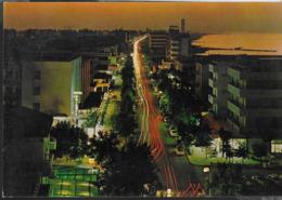 EMILIA ROMAGNA - VILLAMARINA - PANORAMA NOTTURNO  - VIAGGIATA 1973 - Autres Villes