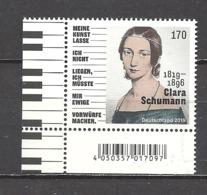 Deutschland / Germany / Allemagne 2019 3493 ** Clara Schumann (06.09.19) - BRD