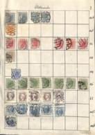 NB - [700406]B/TB//MIX/MIX-ALLEMAGNE - Petit Lot De Timbres Oblitéré Dont Certains Défectueux - Collections