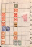 NB - [700409]B/TB//MIX/MIX-ALLEMAGNE - Petit Lot De Timbres */mh Et Obl - Collections