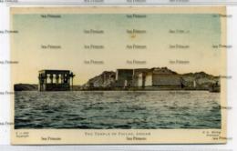 Sudan GN Morhig The Temple Of Philae Assuan  Khartoum Postcard C-442 - Sudan