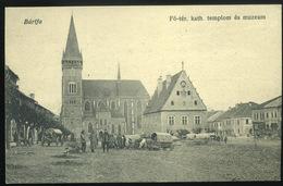 BÁRTFA 1910. Fő Tér  Régi Képeslap        ## - Hongarije