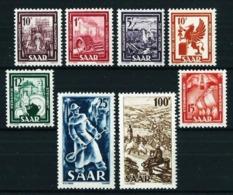 Sarre Nº 255/62 Nuevo Cat.91,20€ - 1947-56 Occupation Alliée