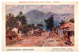 Ceylan - Entrée De Kandy - Cartes Postales