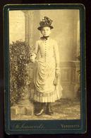 VERSEC 1880. Cca. Joanivits :: Ismeretlen Lány  Visit Fotó - Other