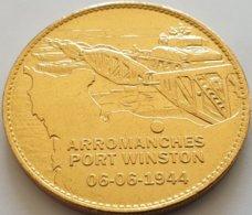JETON TOURISTIQUE -  ARROMANCHES  PORT WINSTON - 06.06.1944 - Touristiques
