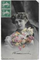 "BERGERET Femme Et Fleurs  ""Rêverie"" - Women"