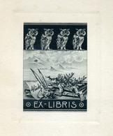 EX LIBRIS  Glück Frigyes - Sin Clasificación