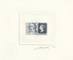 Monaco Epreuve D Artiste   N° 1719 Sequicentenaire De L émission Du Premier Timbre Poste - Monaco