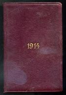 ZSEBNAPTÁR 1914. - Sin Clasificación