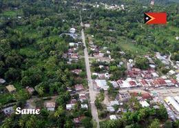 AK Osttimor East Timor Same Aerial View New Postcard - Timor Oriental