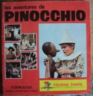Album Panini - Pinocchio - 1972 - French Edition