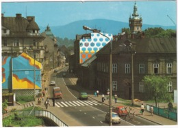 Bielsko-Biala: FSO 126P, 125P, ZSD NYSA FURGON - Ulica Koniewa -  (Poland) - Toerisme