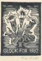 Nieuwjaarskaart 1962 Hugo Krafft - Hugo Krafft (gesigneerd) - Sin Clasificación