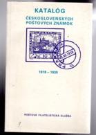 Catalogue  :spécialisé Tchecoslovaquie 1918-1939  Ed 1989 En Tchequ - Otros