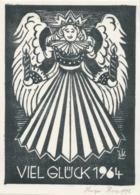 Nieuwjaarskaart 1964 Hugo Krafft - Hugo Krafft (gesigneerd) - Sin Clasificación