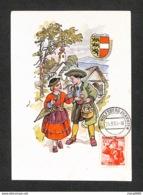 AUTRICHE - OSTERREICH - Carte Maximum 1950 - Carinthia, Lavanttal - Maximumkarten (MC)