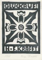 Nieuwjaarskaart 1966 Friedel Und Hugo Krafft - Hugo Krafft (gesigneerd) - Sin Clasificación