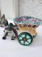 Ane Et Sa Charrette - Céramique - Italy - Céramiques