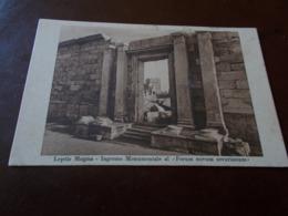 B735   Tripoli Leptis Magna Non Viaggiata Cm14x9 - Libyen