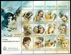 2002 SAN MARINO BF69 MNH ** - Blocchi & Foglietti
