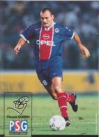 FOOTBALL CP  VINCENT  GUERIN   PARIS SAINT GERMAIN 1997/98 - Football
