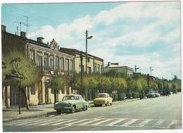 Bialobrzegi: WARTBURG 311, FSO SYRENA 100, MOTORCYCLE - Ulica Krakowska - (Poland) - Toerisme