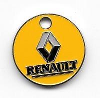 Jeton De Caddie  Ville, Automobiles  RENAULT  Verso  Garage  Brizet  à  CHALON  SUR  SAÔNE  ( 71 ) Recto  Verso - Jetons De Caddies