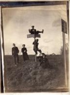 Photo Prise A  Landenweiler -1917 Provenant Du Même Album De Famille Du Château De Landenweiler - - Guerra, Militari