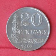 BRAZIL 20 CENTAVOS 1967 -    KM# 579,1 - (Nº31003) - Brésil