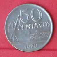 BRAZIL 50 CENTAVOS 1970 -    KM# 580,a - (Nº31004) - Brésil