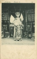 Indochina, TONKIN HANOI, Native Chinese Actress, Fan (1900) Postcard - Viêt-Nam