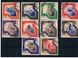 Rusia. Serie Completa Usada De La Espartakiada. Ivert N. 553/64 - 1923-1991 UdSSR