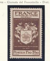 PIA - FRA - 1944 : Giornata Del Francobollo  - (Yv 668) - Giornata Del Francobollo