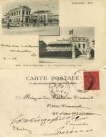 Indochina, TONKIN HANOI, Groupe Scolaire, Cercle De L'Union (1903) Postcard - Viêt-Nam