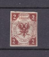 Luebeck - 1859 - Michel Nr. 3 - 35 Euro - Luebeck