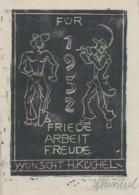 Wenskaart 1952 Heinrich Küchel - Heinrich Küchel (gesigneerd) - Sin Clasificación