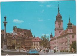 Warszawa: CHEVROLET CAMARO '72 - Widok Na Plac Zamkowy - (Poland) - Toerisme